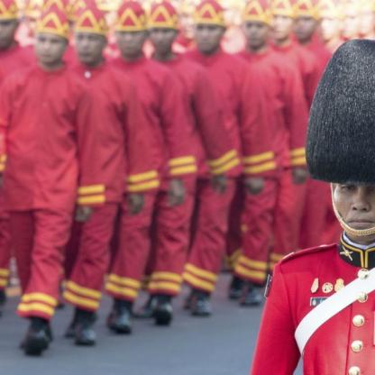 Tailandia dijo adiós a Bhumibol el Grande (34)