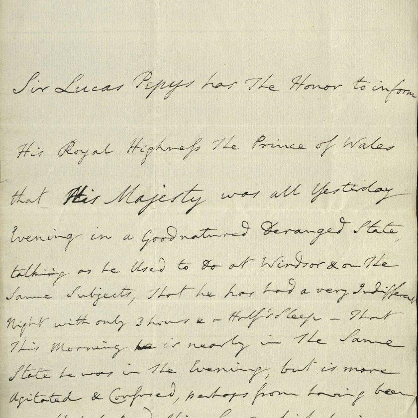 """Revelaron detalles sobre la locura del """"ingobernable"""", """"malhumorado"""" e """"incoherente"""" rey Jorge III"""